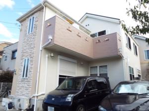 東京都練馬区H様邸外壁屋根塗装の施工後写真