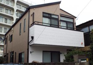 中野区の外壁塗装施工事例 施工後